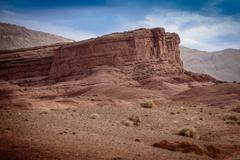 Nomad Valley in Atlas Mountains, Morocco Stock Photos