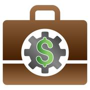 Accounting Options Gradient Vector Icon Stock Illustration
