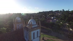 Carmo church in Olinda, Pernambuco, Brazil Stock Footage