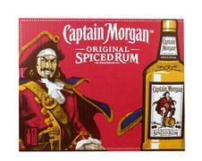 Captain Morgan Rum sign Stock Photos