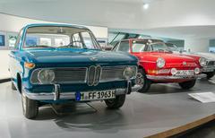 Munich, Germany - March 10, 2016: BMW Museum - stock photo