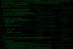 Program code background Stock Illustration