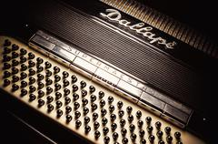 Dallape Accordion From Italy Stock Photos