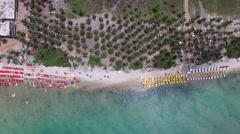 Aerial View of Muro Alto Beach, Pernambuco, Brazil Stock Footage