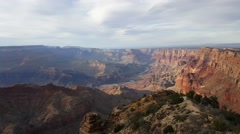 Amazing view of grand canyon, Arizona - stock footage