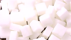 Portion of Sugar (4K; not loopable) Stock Footage