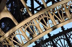 Eiffel Tower detail Stock Photos