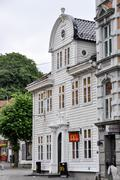 McDonald's restaurant in Bergen, Norway - stock photo