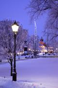 Park Esplanade - stock photo