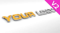 Construction 3D Logo (V.2) - After Effects Template - stock after effects