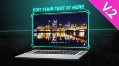Laptop Presentation (V.2) - After Effects Template - stock after effects