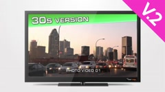 TV HD 30s Commercial (V.2) - After Effects Template Stock After Effects