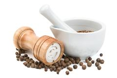 kitchen equipment for grinding spices - stock photo
