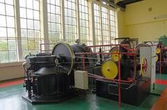 Stock Photo of Machine room