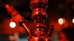 Hookah pipe Stock Footage