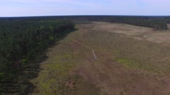 OBARY, nature reserve //AERIAL FOOTAGE// Stock Footage