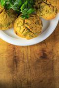 Vegan muffins - stock photo