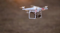 Drone Flying Stock Footage
