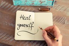 Heal Yourself - stock photo