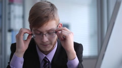 Stress in the Workplace Stock Footage