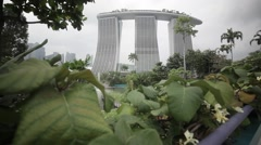 Marina Bay Sands, Singapore Stock Footage