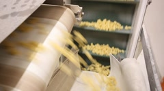 Italian pasta factory Stock Footage