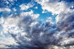 Dramatic stormy sky, natural scene Kuvituskuvat