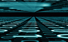 Binary code concept background, 4k Stock Footage