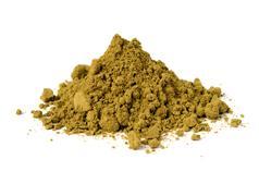hemp protein powder - stock photo