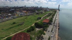 Aerial View of Recife, Brazil Stock Footage