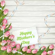 Happy mother day. EPS 10 Stock Illustration