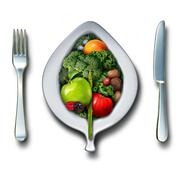 Nutrition Healthy Lifestyle - stock illustration