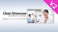 Clean Showcase (V.2) - After Effects Template - stock after effects