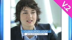 Clean Sides Loop (V.2) - After Effects Template - stock after effects