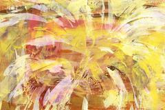 Yellow abstract backround Stock Illustration