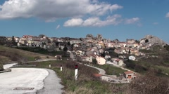 Pietrabbondante small town in Molise Stock Footage