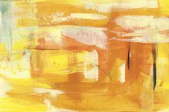 Stock Illustration of yellow sienna abstract backround  handmade painting