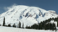 Mt Rainier National Park Stock Footage