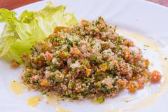 Traditional libanese tabbouleh Stock Photos