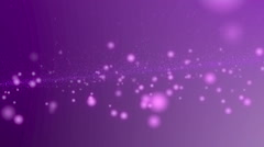 Purple particle on magenta backdrop for abstract background Stock Footage