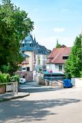 View of the urban landscape. Germany. Carlsberg - stock photo