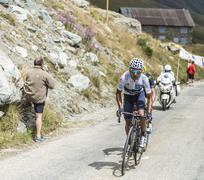 Quintana on the Mountains Roads Stock Photos
