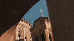Armenian Church in Moscow - stock footage