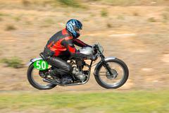 BROADFORD, VICTORIA/AUSTRALIA - APRIL 1, 2016:Road Racing Championships - stock photo