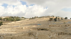 Mount of Olives Stock Footage