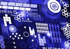 Innovative technologies Stock Illustration