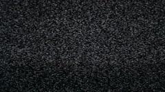 TV NOISE - stock footage