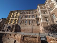 Rivoli Castle in Rivoli Stock Photos