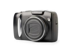 Compact digital camera - stock photo