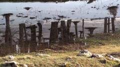 Vallefiorita Pizzone, spring lake Stock Footage